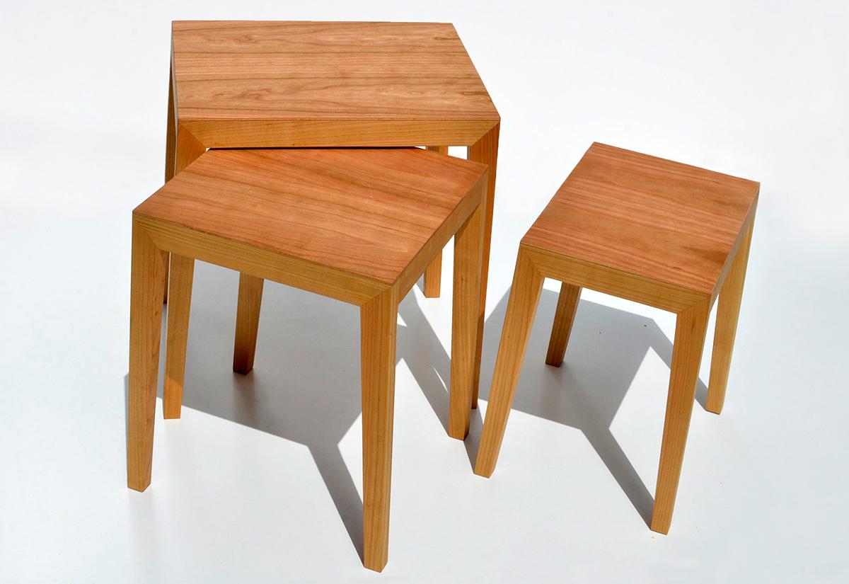 3 satztisch theo von sixay furniture designerm bel aus vollholz in h chstqualit t. Black Bedroom Furniture Sets. Home Design Ideas