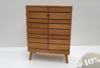 BAROSO bar cabinet Oak