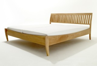 ZEBRA solid wood bed