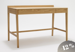 THEO medium desk oak -12%