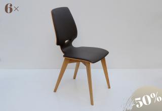 FINN kápitos szék bőr-Terra