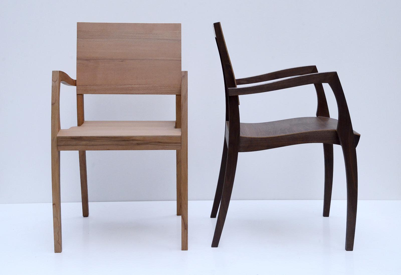 GH2 Stuhl mit Armlehne