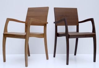 GH2 chair with armrest