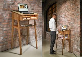 SIXtematic standing desk2 oak -12%